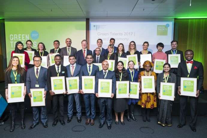 Gruppenfoto Green Talents 2017