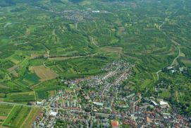 Renchen, aerial