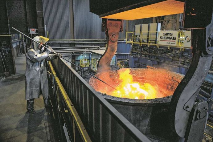 Hightech Innovation for the steel industry.