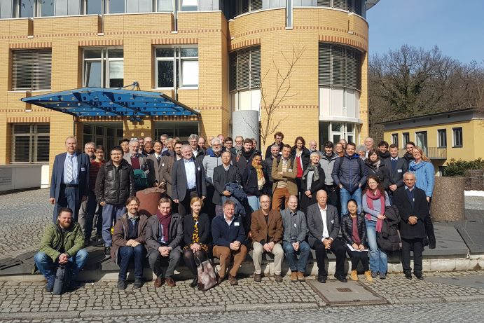 The participants of the final SUGAR conference at the GFZ in Potsdam.