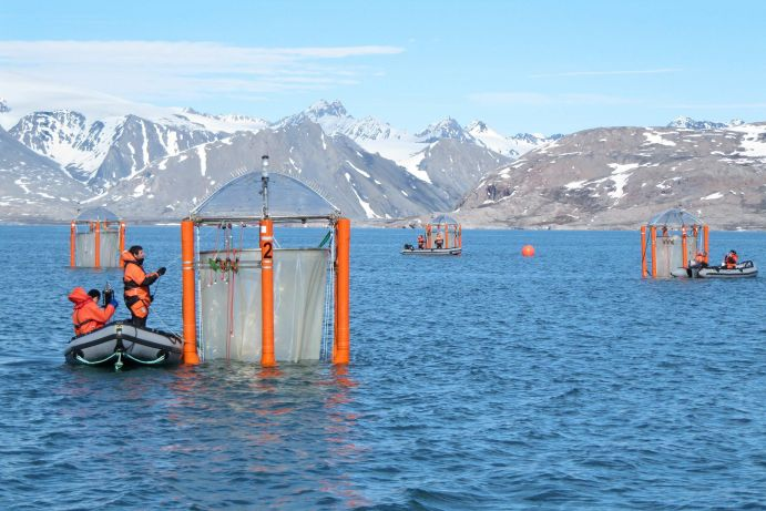 BMBF Funded Marine Research in Sweden's Gullmarfjord