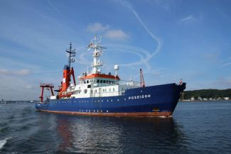 Research vessel POSEIDON