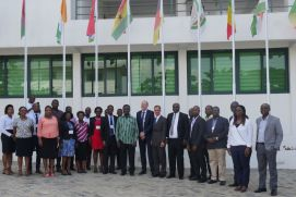 Workshop participants in Ghana