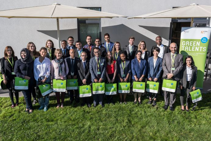 Green Talents Awardees 2017