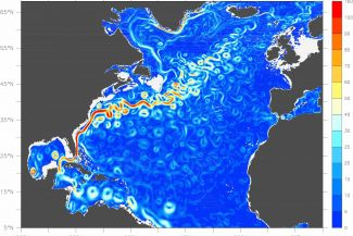 Gulf stream North Atlantic Drift