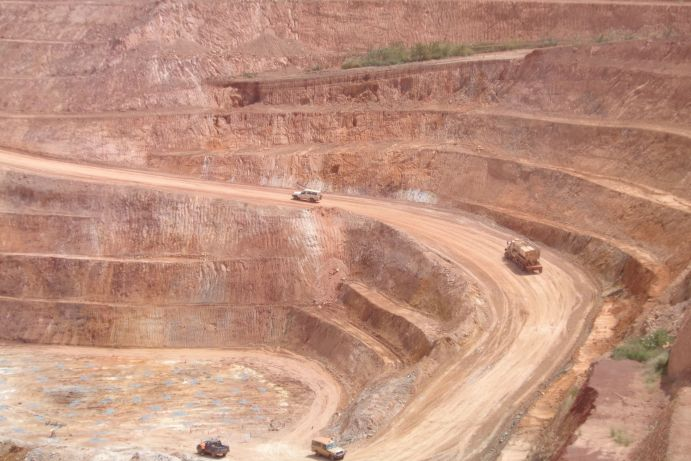 Goldmine in Burkina Faso