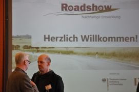 "The ""Roadshow"" on March 7th and 8th presents economic solutions for sustainability."