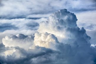 Clouds have a major influence on our climate