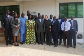 Participants at the workshop to map the potential of green hydrogen in Accra