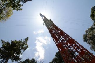 325-metre-tall ATTO tower