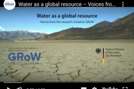 "Screenshot vom Video ""Water as a Global Resource – Voices from the research initiative GRoW"""
