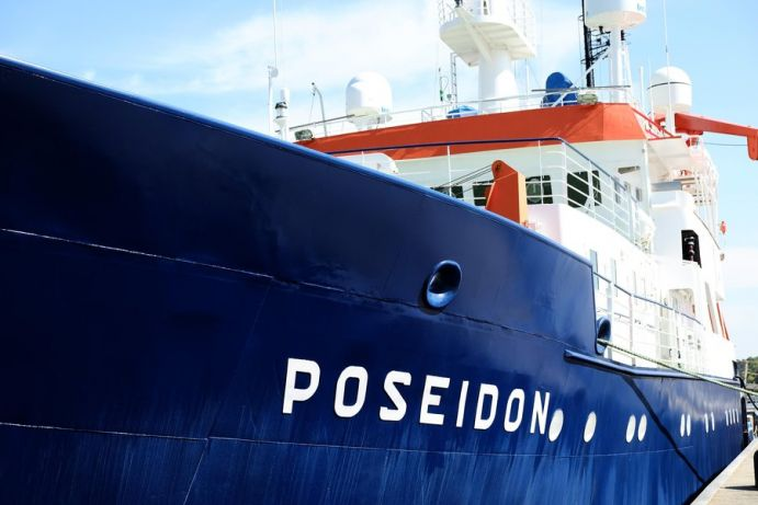 The expedition POS519 leads the researchers with the German research vessel POSEIDON from Las Palmas (Spain) to the coast of Mauritania.