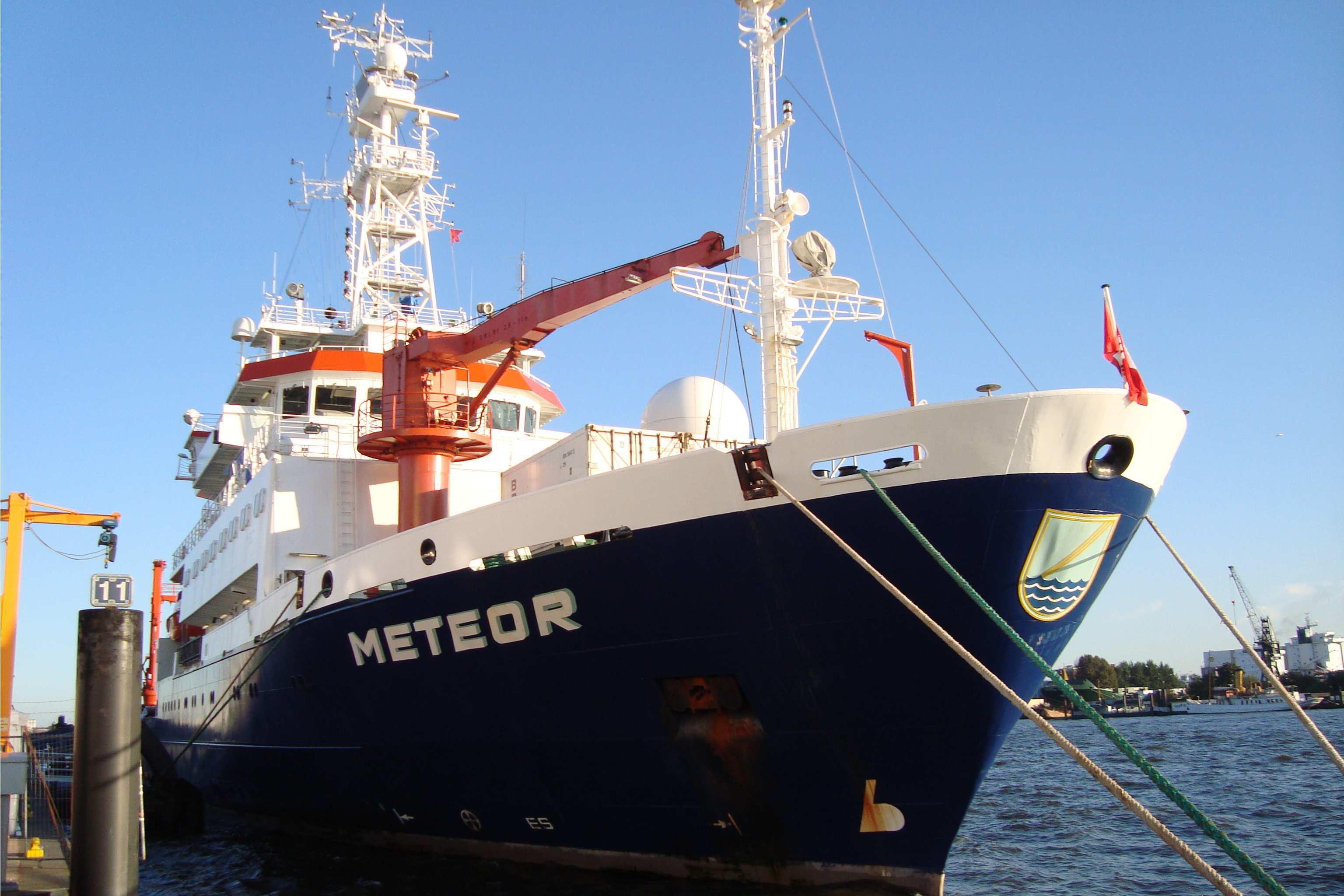Meteor Forschungsschiff